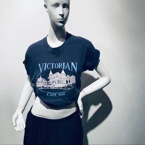 Vintage Cape May Tourism Souvenir T-shirt sz M/L